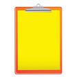 bright clipboard vector image