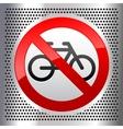Symbols bike vector image vector image