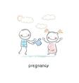 pregnancy vector image vector image