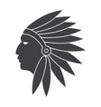 native american indians vector image