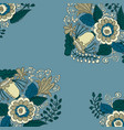 decorative corner pieces vector image