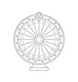 fortune wheel vector image
