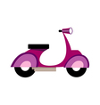 icon Scooter vector image