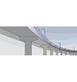 pont bridge vector image vector image