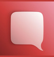 chat background red art creatuve vector image