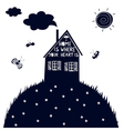 house of my dream vector image
