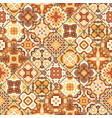 square scraps in oriental style vector image