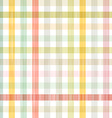 Retro Square Tablecloth Seamless Pattern vector image