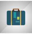 luggage icon design vector image
