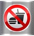 Symbols food vector image vector image