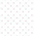 valentine hearts sparse pattern vector image