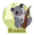 ABC Cartoon Koala vector image