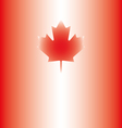 Canada background abstract canadian flag vector image