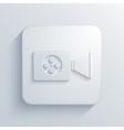 modern videocamera light icon vector image