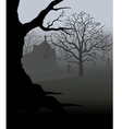 Creepy Graveyard vector image