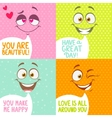 smiles vector image vector image