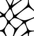 Seamless mesh pattern vector image