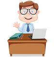 Bussiness man vector image