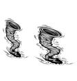 danger hurricane vector image