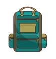 bag school supply icon vector image