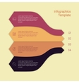 Set of infographic template layouts Flow chart vector image