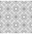 doodles mandala seamless pattern vector image