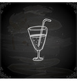 Hand Drawn Cocktail vector image