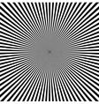 retro ray pattern vector image