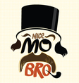 Movember design vector