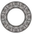 ircle frame vector image vector image