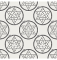 Seamless pattern with mystical astrological sign vector image