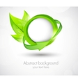 Ecology template vector image