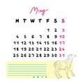 2015 may sheep vector image vector image