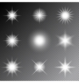 Stars and sparkles vector image vector image