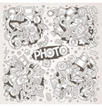 photo hand drawn sketchy doodle designs vector image