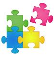 Jigsaw vector image