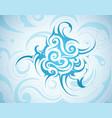 swirls backgorund vector image