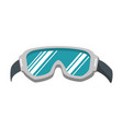 ski googles isolated icon vector image