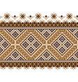 of ukrainian folk seamless pattern vector image
