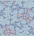 dandelion canvas seamless pattern background vector image