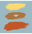 Grunge ink hand-drawn shapes vector image