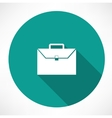 briefcase icon vector image