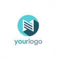 building icon logo vector image