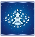 Marvelous Christmas tree vector image vector image