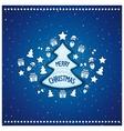 Marvelous Christmas tree vector image