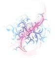 Swirls background vector image vector image