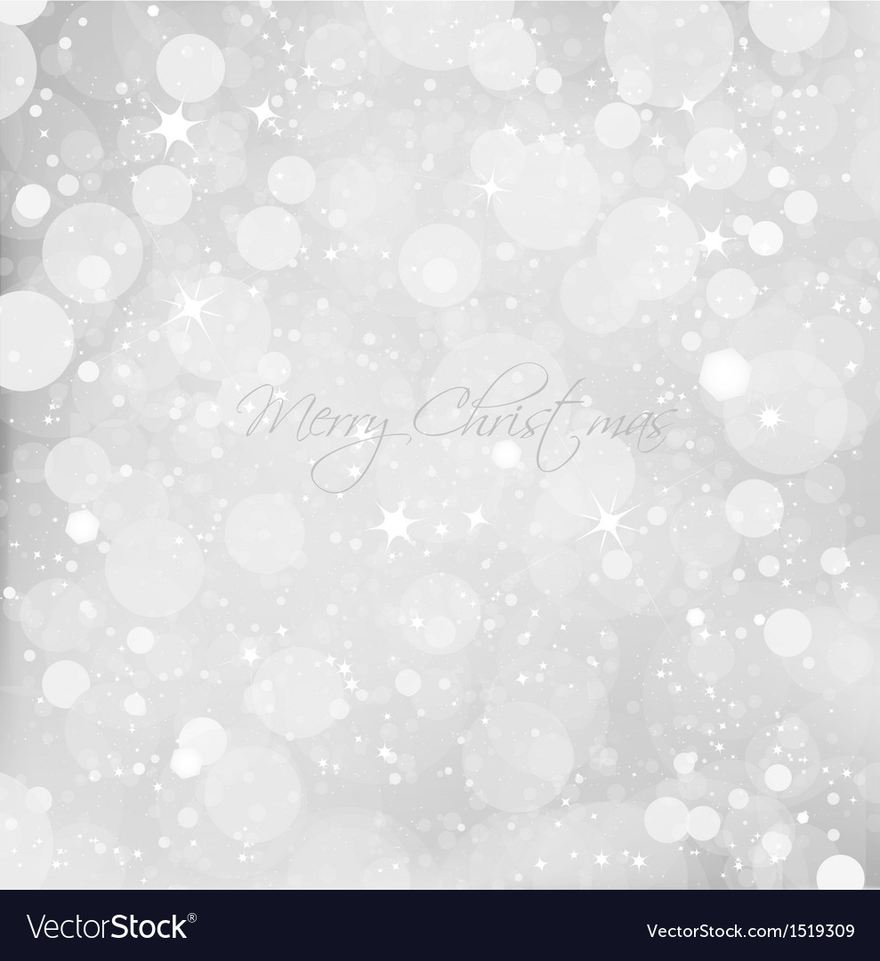 Abstract christmas snow background vector