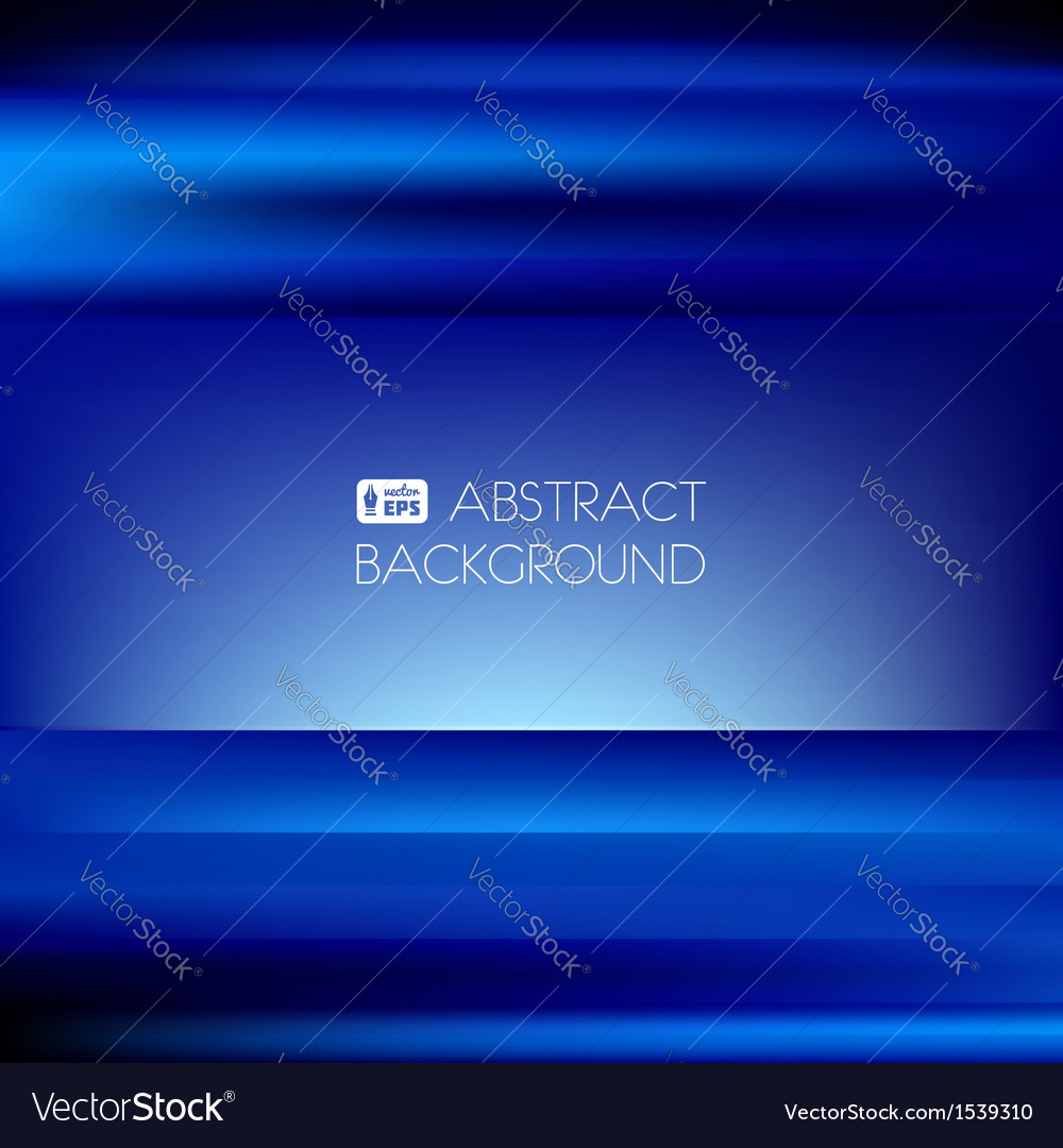 Blue abstract striped background vector