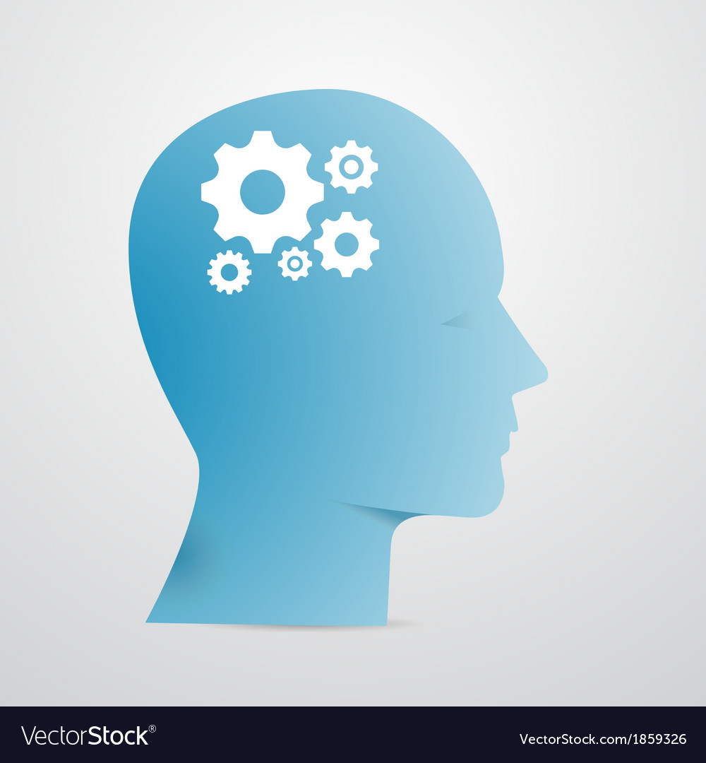 Head cogs vector
