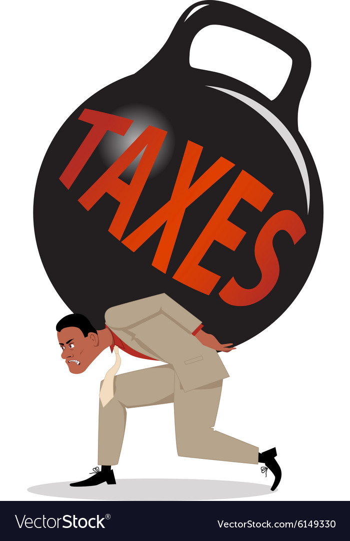 Burden of taxes vector